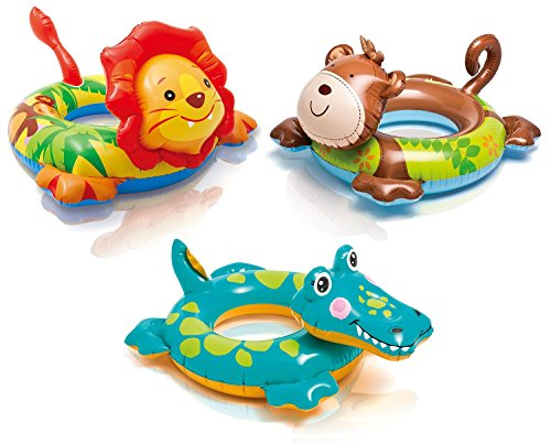 Big Inflatable Animal Swim Ring - Assorted Styles