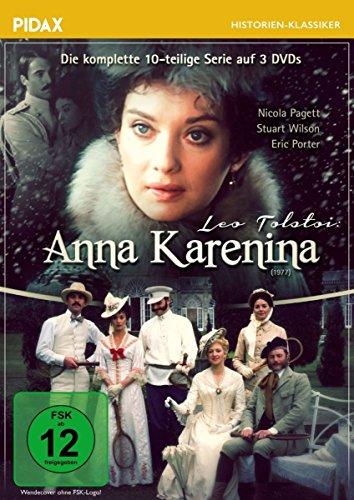 Anna Kostüm Karenina - Anna Karenina / Die komplette 10-teilige Historienserie (Pidax Historien-Klassiker) [3 DVDs]