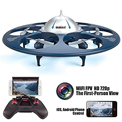 Babrit U845 Wifi 2.4GHZ UFO RC Aircraft Remote Control Quadcopter Drone Aerial Vehicle-Upgrade version