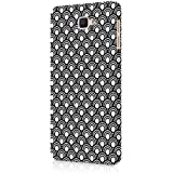 Casography Pattern Designer Printed Ultra Slim Light Weight Back Case Cover For Samsung Galaxy J7 Max (Pink) - Black & White - B1-D53