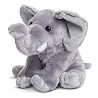Aurora World Destination Nation Elephant Plush Toy (Grey/White)