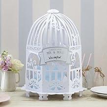 Ginger Ray Vintage Birdcage Tarjeta de boda Post Box para bodas y fiestas