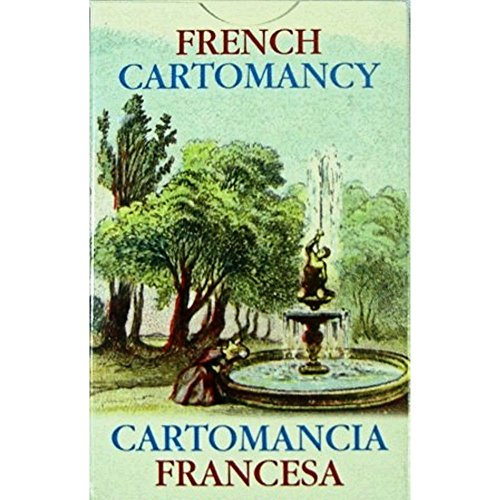 French Cartomancy Oracle, 36 Divination Cartes avec Instruction Multilingue
