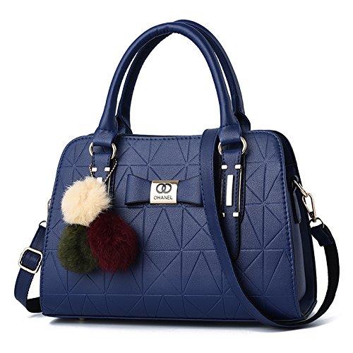 Umhängetasche - Wild Air Tote Bag Stilvolle, Schlichte Damen-Umhängetasche In Dunkelblau