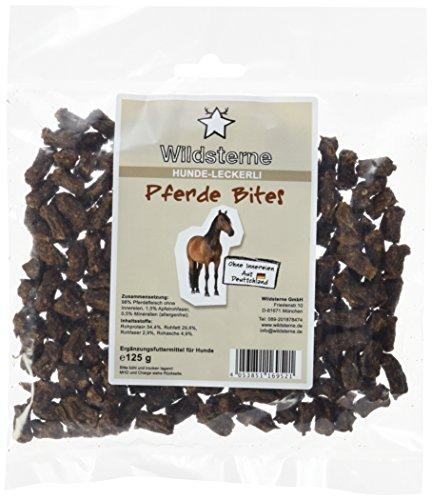 Artikelbild: Wildsterne Hundeleckerli Pferde Bites, 4er Pack (4 x 125 g)