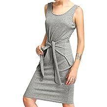 Luxspire Vestidos Mujer, Vestidos Apretados, Vestidos Largos, Vestidos Casuales sin Mangas para Mujer