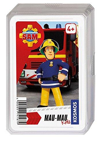 Kosmos 741679–Jeu de Cartes Pompier Sam Mau-Mau Kids