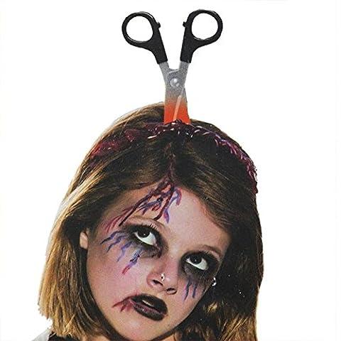 Adulte Femme Halloween - LAEMILIA Serre-tête Bandeaux Adulte Halloween Couteau Ciseaux