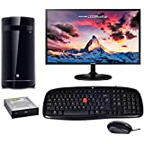 Assembled PC | All In One Desktop (iBall Cabinet / IBall Mouse & Keyboard / Intel Core 2 Duo Processor / 4 GB DDR3 RAM / 500 GB Hard Disk / Gigabyte Mother Board / Windows 7 Ultimate / 18.5 Inch Samsung LED Monitor / LG DVD Writer)