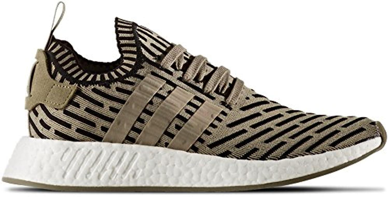 adidas unisexe chaussures nmd_r2 pk le dans le pk vert olive et tissu noir ba7198 77c7da