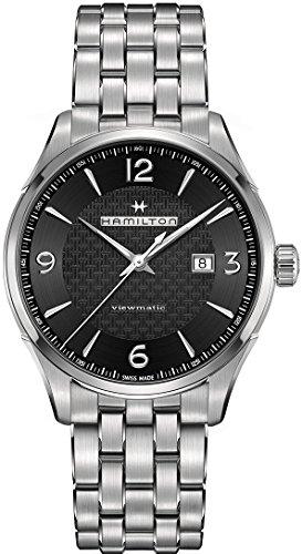 utomatische schwarz Zifferblatt Herren Armbanduhr h32755131 (Der Urlaub Halloween-geschichte)