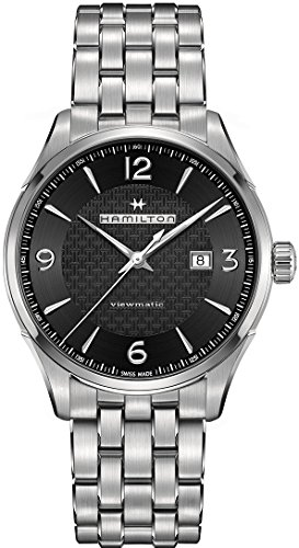 Hamilton VIEWMATIC Automatische schwarz Zifferblatt Herren Armbanduhr h32755131