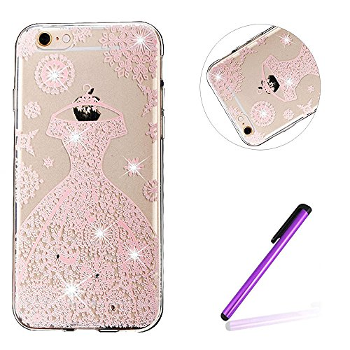 iPhone 7 Plus Coque Crystal Bling Bling,iPhone 7 Plus Silicone Case Slim Soft Gel Cover,iPhone 7 Plus Coque Silicone,iPhone 7 Plus Coque Transparente,iPhone 7 Plus Coque Ultra-Mince Etui Housse avec B TPU 53