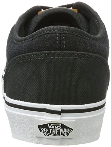 Vans Atwood - Chaussures de Running - Homme Noir ((F17C&L)Blck/wht)