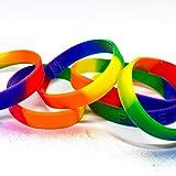 LGBT Pride braccialetto arcobaleno di Gay e lesbiche