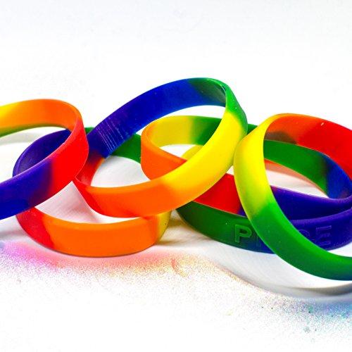 LGBT Homosexuelles / lesbisches stolzes Silikon-Armband-Armband
