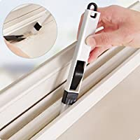 2 in1 Ventana de limpieza del cepillo de limpieza Cranny teclado de cocina casera plegable herramienta de limpieza de cepillo