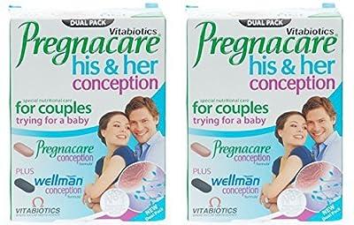 (2 Pack) - Vitabiotic - Pregnacare His & Hers   60's   2 PACK BUNDLE by vitabiotics ltd
