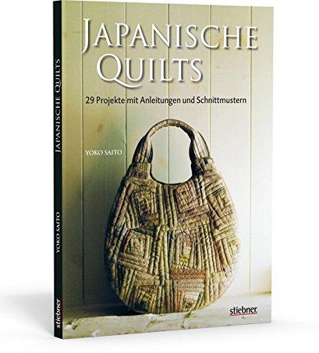 Japanische Quilts - 29 Projekte mit Anleitungen und Schnittmustern - Schnitt Glas Tönen