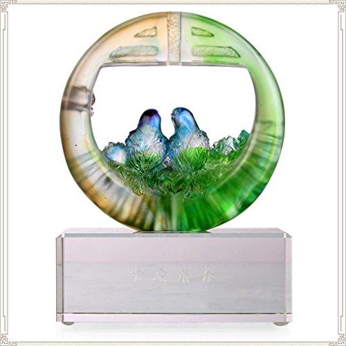 handwerk-glas-wohnzimmer-dekoration-hochzeit-ehe-zimmer-kreative-einrichtung-hochzeit-geschenk-dekor