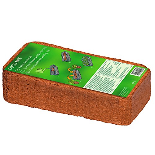 Kokos-block (Kokos-Quellerde, 1 Liter)