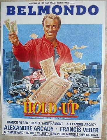 Hold Up - 1985 - Belmondo - 116X158Cm Affiche Cinema Originale