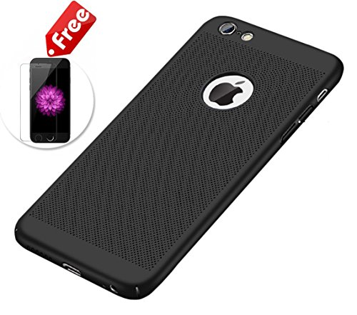 Traspirante PC case-iphone Black iPhone X Black
