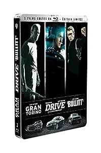 3 films cultes - Coffret - Gran Torino + Drive + Bullitt [Édition Limitée boîtier SteelBook] [Édition Limitée boîtier SteelBook]