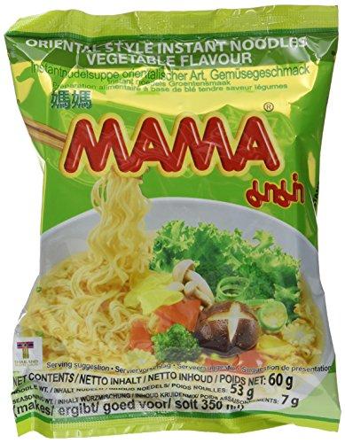 Mama Instantnudeln, Gemüse, 24er Pack (24 x 60 g)