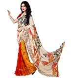 Vivera Womens Georgette Saree(VRPAYAL207_NEW)