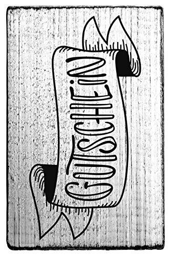 Rössler Papier - - Vintage Stempel Gutschein - Liefermenge: 3 Stück