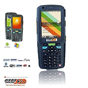 PD-490 Terminal de collecte de données professionnel - Terminal portable - Windows Mobile - 3.5'' couleur TFT (640 x 480) - lecteur de code à barres - Logement 2 microSD - Wi-Fi, Bluetooth, HSDPA, telephone, GPS, Foto