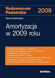 Amortyzacja w 2009 roku