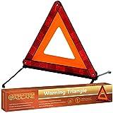 GADLANE triangolo di segnalazione di emergenza auto pieghevole + valigetta ECE R27norme europee