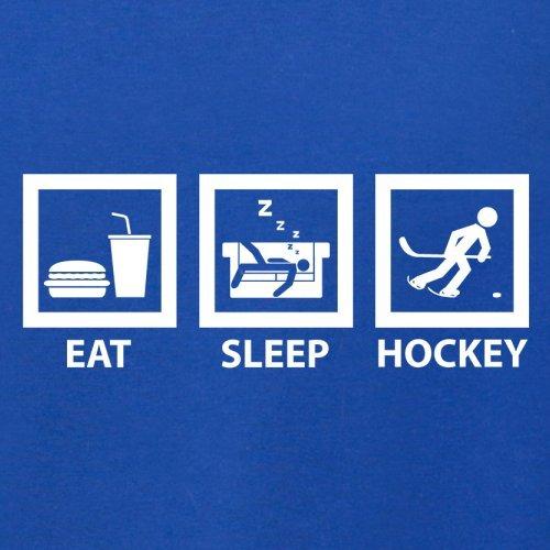Eat Sleep Ice Hockey - Herren T-Shirt - 13 Farben Royalblau
