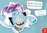 3er-Pack: Postkarte A6 +++ WIWALDI von modern times +++ PFERDE STEHLEN - HORST-PFERDINAND +++ MODERN TIMES bigSmile Entertainment GmbH/WIWALDI