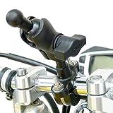 buybits U-BOLZEN Motorrad Halterung with 17mm ADAPTER FÜR GARMIN Nuvi Navi Wiegen / Halter