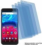 4ProTec 4X Crystal Clear klar Schutzfolie für Archos Core 60S Bildschirmschutzfolie Displayschutzfolie Schutzhülle Bildschirmschutz Bildschirmfolie Folie