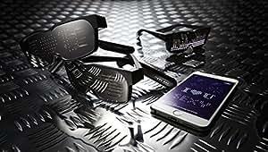 CHEMION - Einzigartige Bluetooth-LED-Gläser - Nachrichten, Animation, Zeichnungen anzeigen!