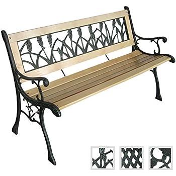 gartenbank wagenrad sitzbank bank holz 407. Black Bedroom Furniture Sets. Home Design Ideas
