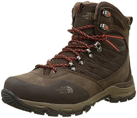 The North Face Herren Hedgehog Trek Gore-Tex Trekking-& Wanderschuhe, Braun (Brown/Tibetan Orange), 43 EU
