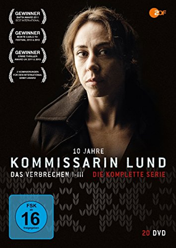 Kommissarin Lund - Die komplette Serie - 10 Jahre Jubiläums-Edition (20 DVDs)