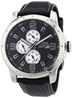 Reloj Festina F16585/9 de cuarzo para hombre con correa de piel, color negro de Festina