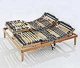 Baldiflex Rete ergonomica Ortopedica Linea Top MOTORIZZATA in Legno - 85x200 cm