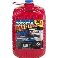 """Toyotomi  Prime 20 Litri,  Combustibile Universale di alta qualità categoria, """"Inodore"""", adatto a tutte le stufe portatili a stoppino ed elettroniche"""