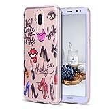CaseLover Huawei Mate 10 Lite Schutzhülle, Transparente Telefon Case Weiche TPU Silikon Hülle Cover für Huawei Mate 10 Lite 5,9
