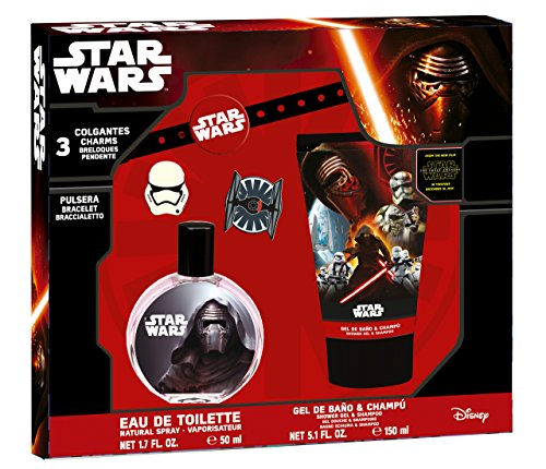 Star Wars Coffret Eau de Toilette 50 ml + Gel Douche/Shampooing 150 ml + Bracelet