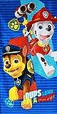 Nickelodeon 821-313 Paw Patrol Badetuch 70 x 140