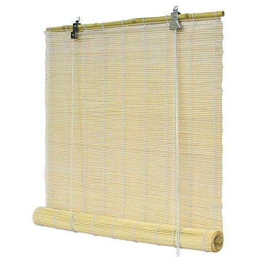 Flairdeco 3704160-06017 Bambusrollo, 60 x 160 cm, natur