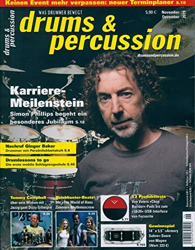 """Drums und Percussion 05/2019 """"Karriere-Meilenstein"""""""